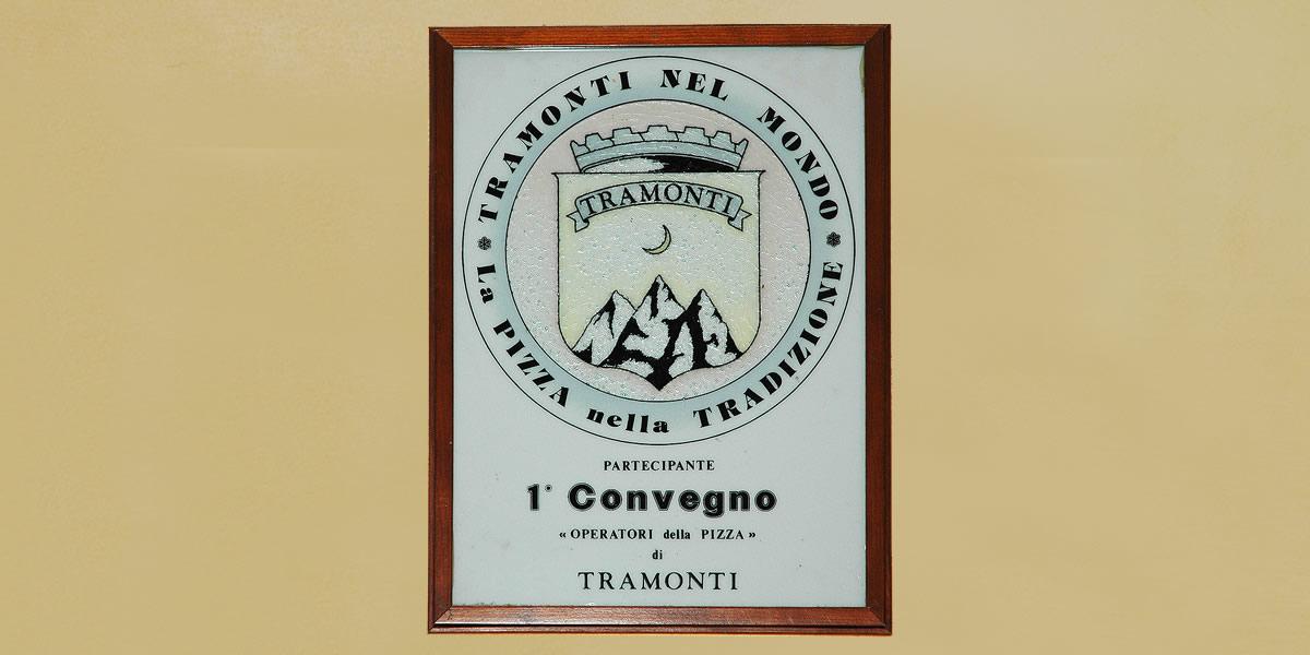 Ristorante Pizzeria Positano - Attestato Pizza Tramontina