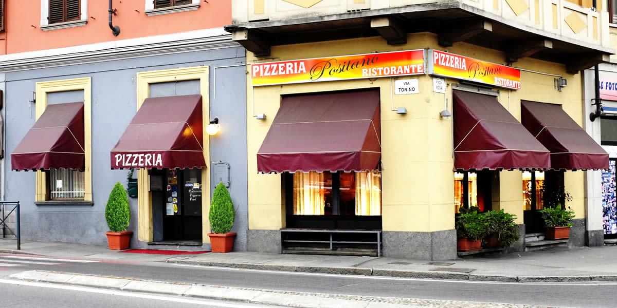 Ristorante Pizzeria Positano - Slide 03 Vista esterna del locale