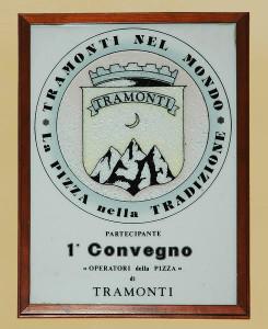 Ristorante Pizzeria Positano - Targa Pizza di Tramonti